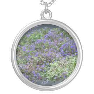 Purple Fields of Joy Necklace