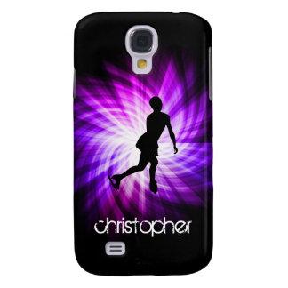 Purple Figure Skating Galaxy S4 Cover