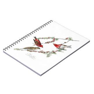 Purple Finch John James Audubon Birds of America Spiral Notebook