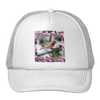 Purple Finch -  The State Bird of NH Trucker Hat