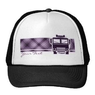 Purple Fire Truck Hat