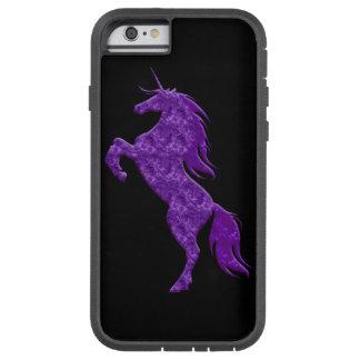 Purple Fire Unicorn iPhone 6 Case