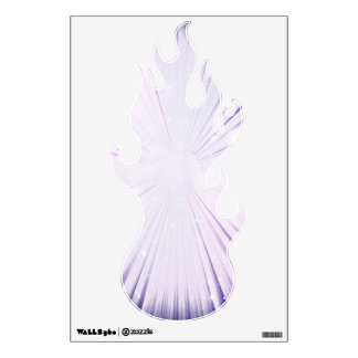 Purple Fire Wall Graphic