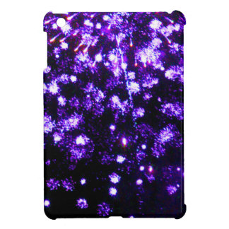 Purple Fireworks Burst iPad Mini Case