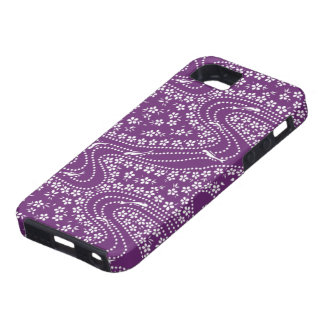 Purple Fish and Blossom iPhone Case