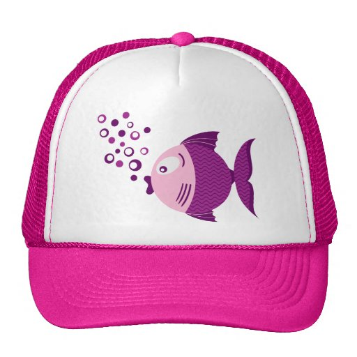 Purple Fish Basic Light Hat
