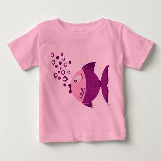 Purple Fish Basic Light T-shirt