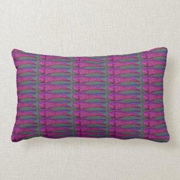 Beach Themed purple fish pillow