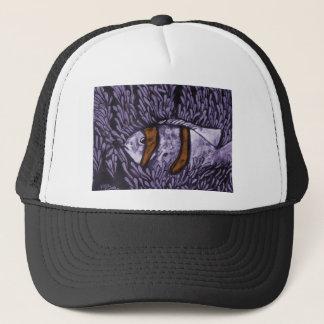 Purple Fish Trucker Hat