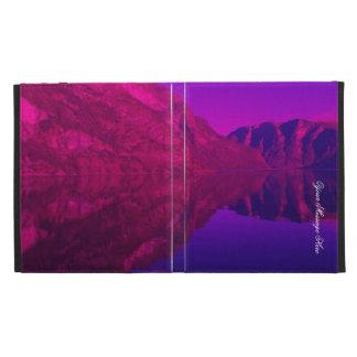 Purple Fjord iPad Folio Cases