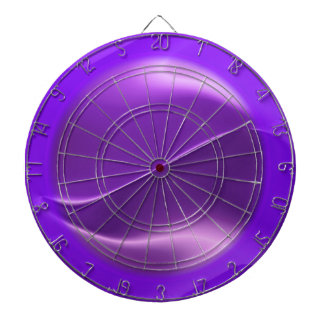 purple flame abstract dartboard with darts