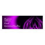 Purple Flame Business Card