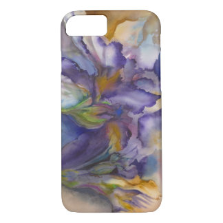 Purple Flame iPhone 7 Case