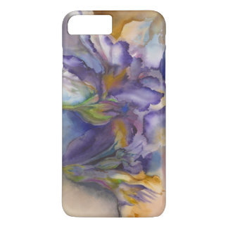 Purple Flame iPhone 7 Plus Case
