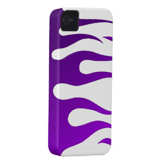Purple Flames BlackBerry Bold Case-Mate iPhone 4 Case