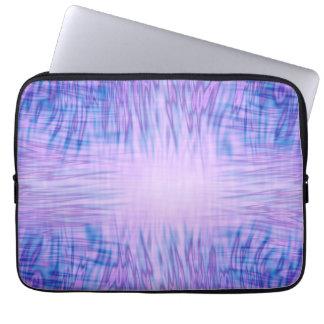 Purple Flames Laptop Sleeves