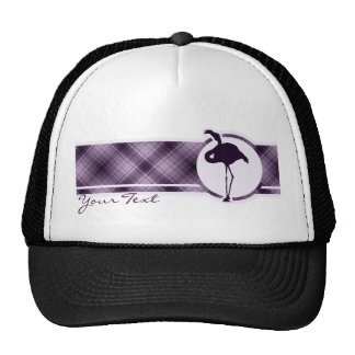 Purple Flamingo Trucker Hat