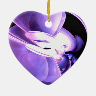 Purple Flare Abstract Ornament