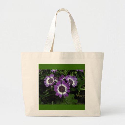 Purple Fleur Trio Bags