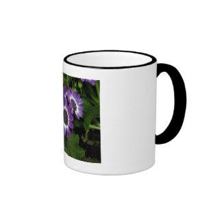 Purple Fleur Trio Coffee Mug