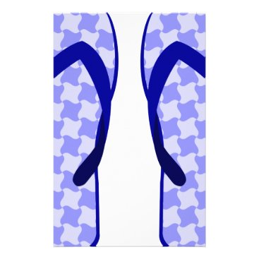 Purple Flip Flops Stationery