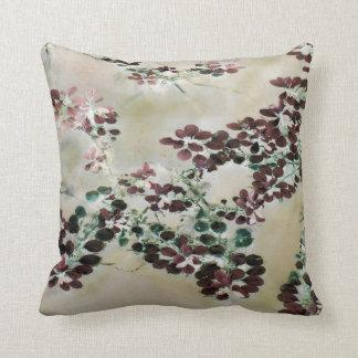 """Purple Floaters"" JTG Art Pillow"