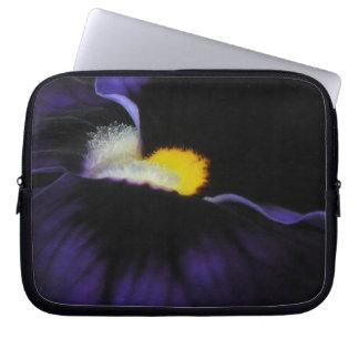 Purple Floral Detail Laptop Travel Sleeve Laptop Computer Sleeves
