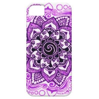 Purple Floral iPhone 5 case