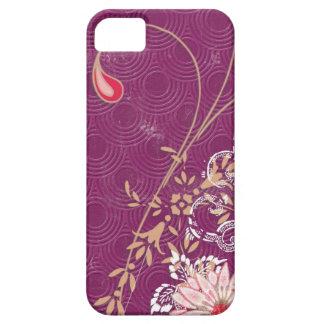Purple Floral iPhone iPad iPod Razr Case