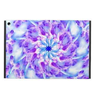 Purple Floral Mandala iPad Air Covers