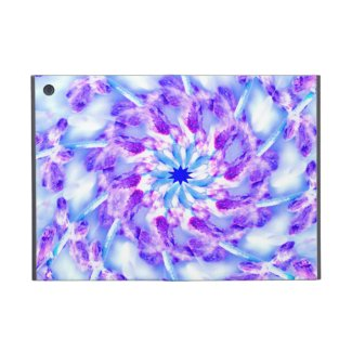 Purple Floral Mandala iPad Mini Cover