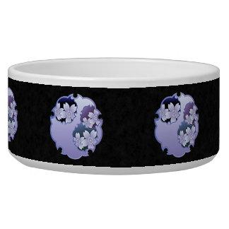 Purple Floral Medallion Bowl