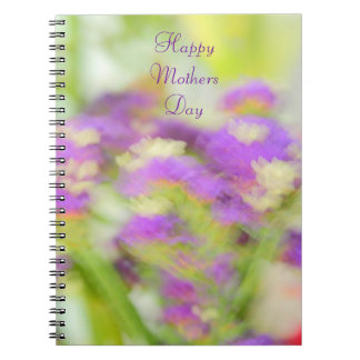 Purple floral Mothers Day Gift Notebook