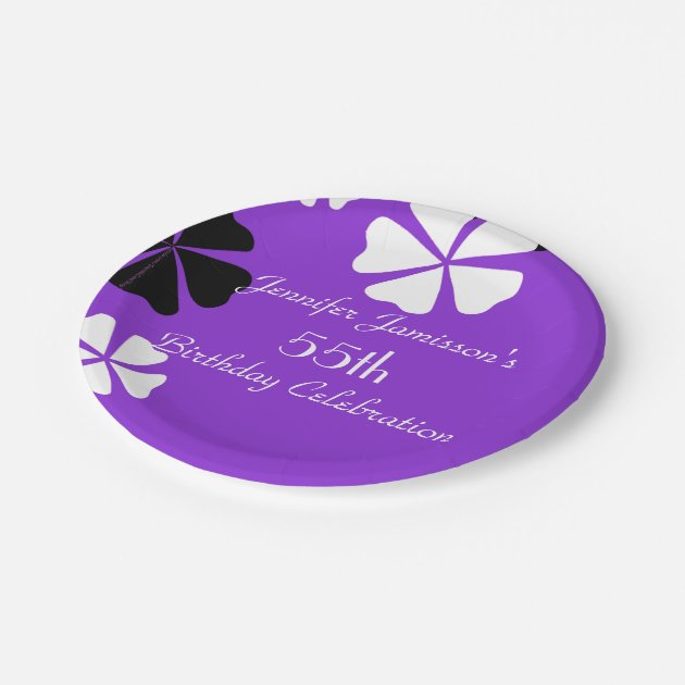 purple paper plates Amethyst purple party supplies at bulk wholesale party prices amethyst purple party plates, napkins, and cups are perfect for your holiday, birthday, graduation, or any classic celebration.