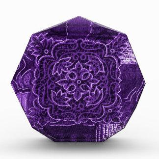 Purple Floral Patchwork Fabric Award