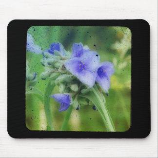 Purple Floral TTV Mouse Pad