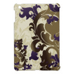 purple flourish girly Ipad case iPad Mini Cases