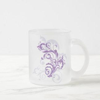 Purple Flourish Mug