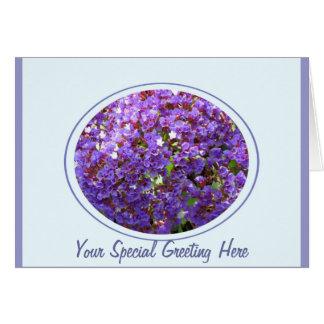 Purple Flower #12 Greeting Card