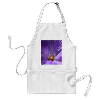 Purple Flower Apron