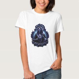 Purple Flower Blessed Virgin Mary Shirts