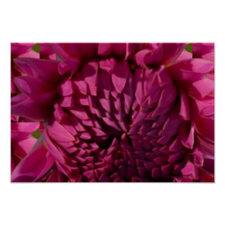 Purple Flower Bud and Blossom Artistic Poster Gift