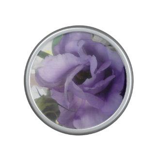 Purple Flower Bumpster Speaker