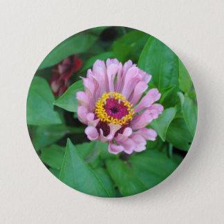 Purple Flower Button