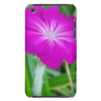 Purple Flower Barely There iPod Case