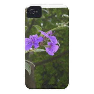 Purple flower case Blackberry