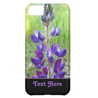 Purple Flower Case For iPhone 5C