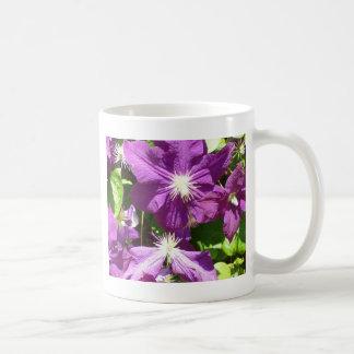 Purple Flower Cluster Coffee Mug