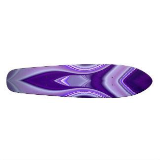 Purple Flower Dream , Abstract Fantasy Rainbow-Art Skateboard Deck