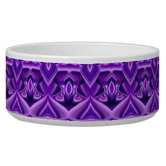 Purple Flower Dreams Dog Food Bowl